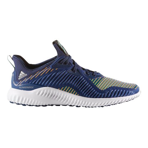 Mens adidas AlphaBounce HPC Casual Shoe - Midnight Grey/Red 13