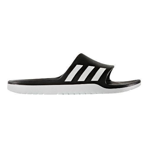 adidas Aqualette CF Sandals Shoe - Black/White 12