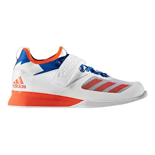 adidas Crazy Power Cross Training Shoe - White/Red/Blue 8.5