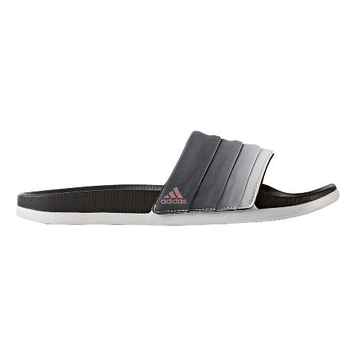 Womens adidas Adilette CF+ Armad Sandals Shoe - Core Black/White 10