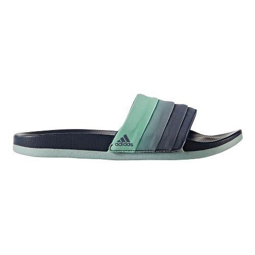 Womens adidas Adilette CF+ Armad Sandals Shoe - Navy/Easy Green 9
