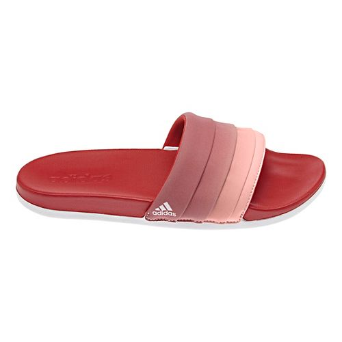 Womens adidas Adilette CF+ Armad Sandals Shoe - Scarlet/Coral 7