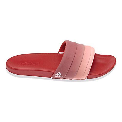 Womens adidas Adilette CF+ Armad Sandals Shoe - Scarlet/Coral 9