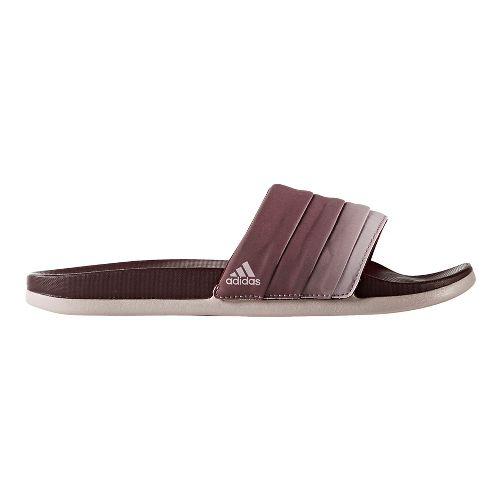 Womens adidas Adilette CF+ Armad Sandals Shoe - Maroon/Ice Purple 9