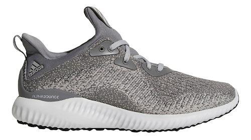 Womens adidas AlphaBounce 1 Running Shoe - Grey/Grey/Black 5