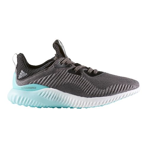 Womens adidas AlphaBounce 1 Casual Shoe - Granite/Aqua 10