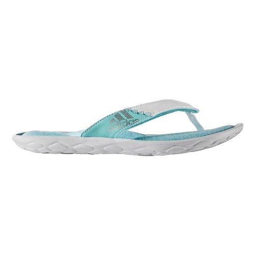 Womens adidas Anyanda Flex Y Sandals Shoe - Mint/White 11