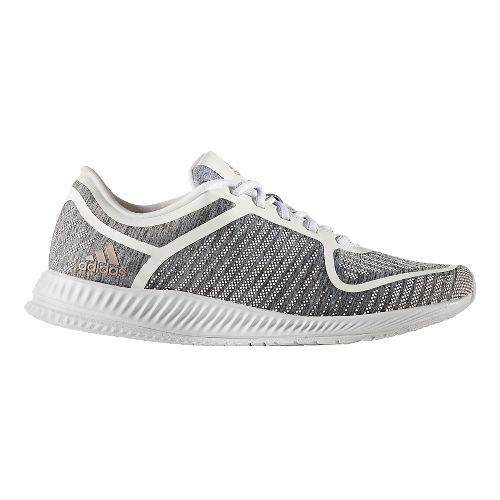 Womens adidas Athletics Bounce Cross Training Shoe - Grey Heather/White 7