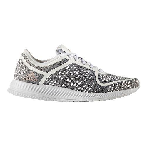 Womens adidas Athletics Bounce Cross Training Shoe - Grey Heather/White 7.5