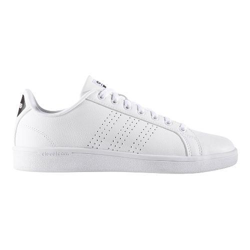 Womens adidas CloudFoam Advantage Clean Casual Shoe - Footwear White 5