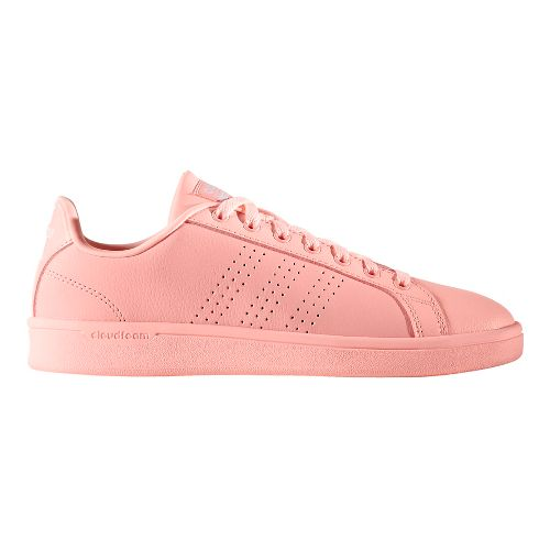 Womens adidas CloudFoam Advantage Clean Casual Shoe - Haze Coral 9.5
