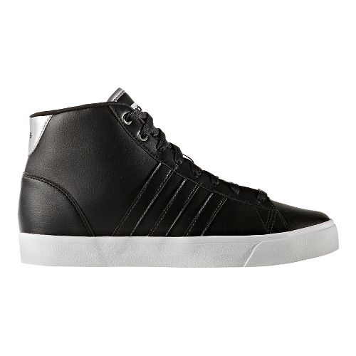 Womens adidas CloudFoam Daily QT Mid Casual Shoe - Core Black 11