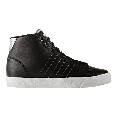 Womens adidas CloudFoam Daily QT Mid Casual Shoe - Core Black 6.5