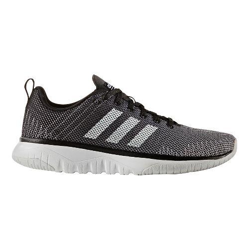 Womens adidas Cloudfoam Super Flex Casual Shoe - Dark Grey/White 9.5