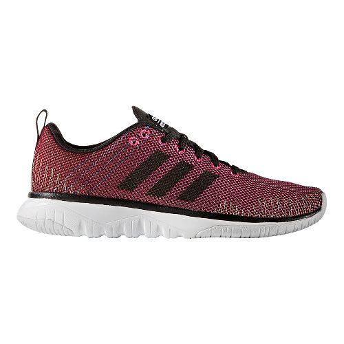 Womens adidas Cloudfoam Super Flex Casual Shoe - Shock Pink/Black 6