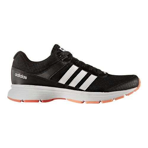Womens adidas Cloudfoam VS City Casual Shoe - Core Black/White 11