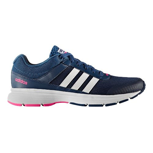 Womens adidas Cloudfoam VS City Casual Shoe - Mystery Blue/White 8