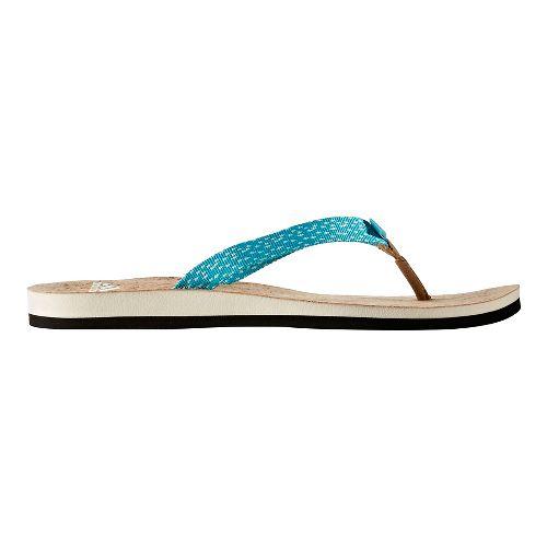 Womens adidas Eezay Parley Sandals Shoe - Core/Green 7
