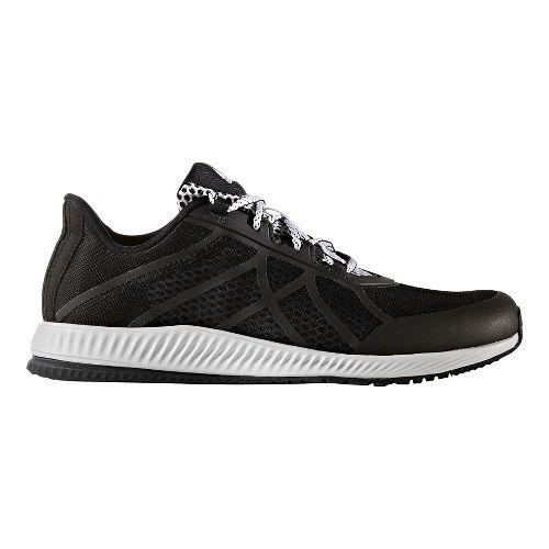 Womens adidas Gymbreaker Bounce Cross Training Shoe - Black/White 7.5