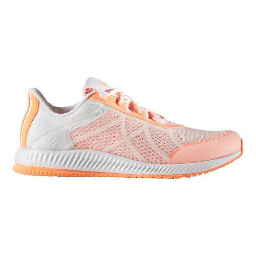 Womens adidas Gymbreaker Bounce Cross Training Shoe - White/Orange 9.5