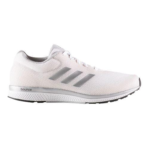 Womens adidas Mana Bounce 2 Aramis Running Shoe - White/Silver 8.5