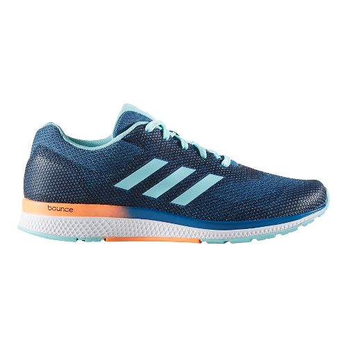 Womens adidas Mana Bounce 2 Aramis Running Shoe - Mystery Blue/Aqua 6.5