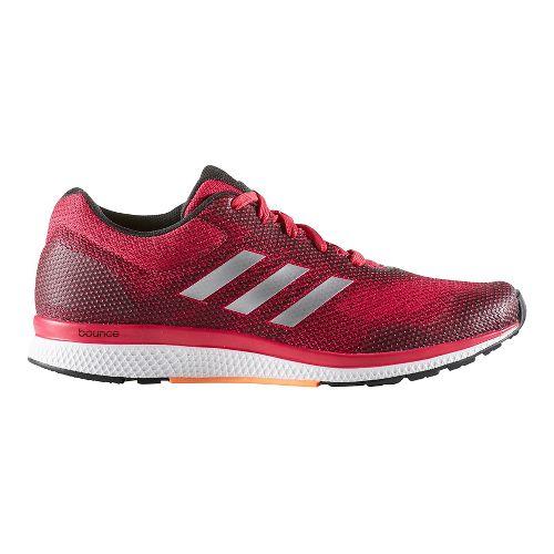 Womens adidas Mana Bounce 2 Aramis Running Shoe - Pink/Silver 9.5