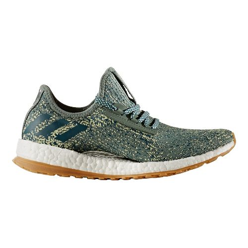 Womens adidas PureBoost X ATR Running Shoe - Trace Green/Olive 9.5