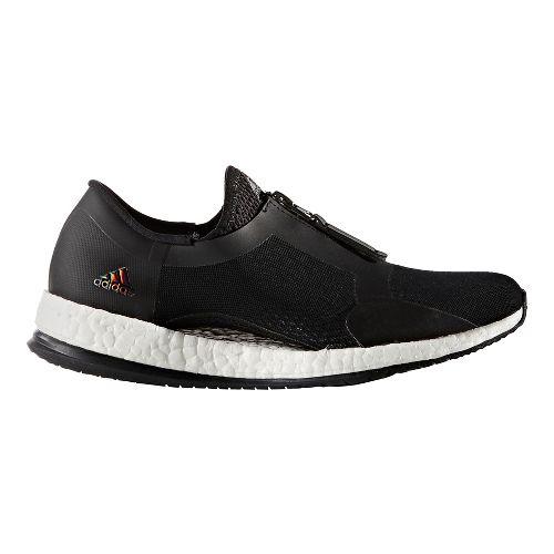 Womens adidas PureBoost X TR Zip Cross Training Shoe - Black/White 6