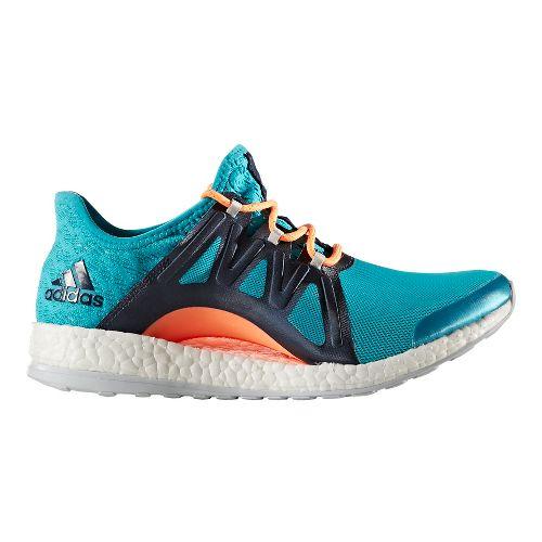 Womens adidas PureBoost Xpose Clima Running Shoe - Energy Blue/Navy 11