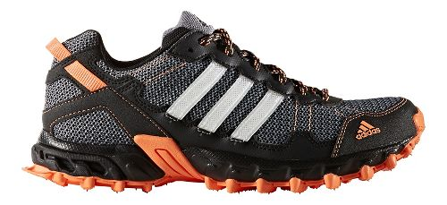Womens adidas Rockadia Trail Running Shoe - Black/Orange 11