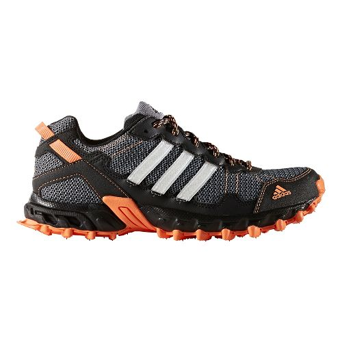 Womens adidas Rockadia Trail Running Shoe - Black/Orange 7