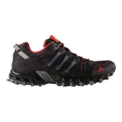 Womens adidas Rockadia Trail Running Shoe - Grey/Black 8