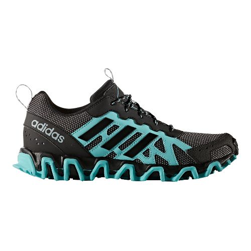 Womens adidas Incision Trail Running Shoe - Mint/Black 7.5