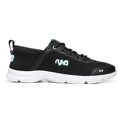 Womens Ryka Joyful Casual Shoe - Black/Mint 10