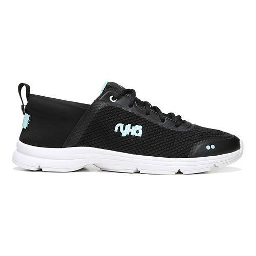 Womens Ryka Joyful Casual Shoe - Black/Mint 7