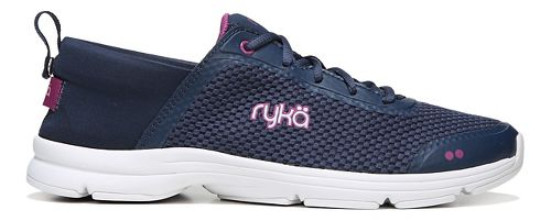 Womens Ryka Joyful Casual Shoe - Navy/Pink 10