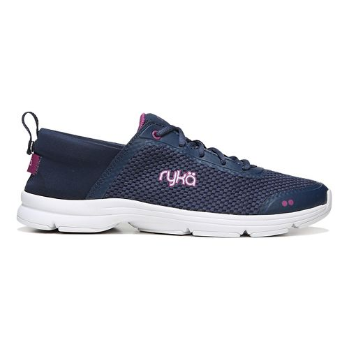Womens Ryka Joyful Casual Shoe - Navy/Pink 10