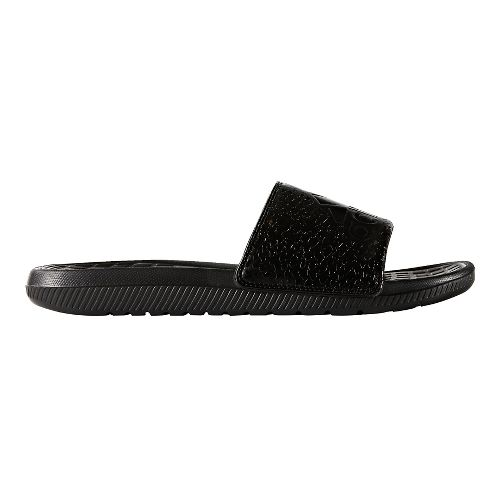Mens adidas Voloomix Graphic Sandals Shoe - Core Black 6
