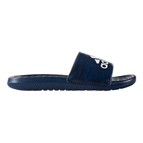 Mens adidas Voloomix Graphic Sandals Shoe - Mystery Blue 11