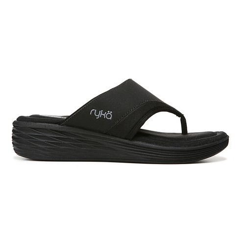 Womens Ryka Natalia Sandals Shoe - Black 7