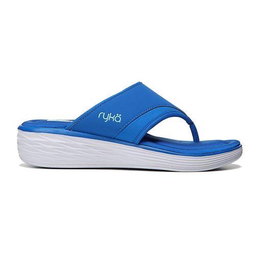 Womens Ryka Natalia Sandals Shoe - Blue/Mint 9