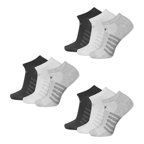 New Balance Lifestyle No Show 9 Pack Socks - Assorted L
