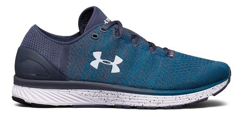 Mens Under Armour Charged Bandit 3 Running Shoe - Blue/Grey 11