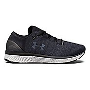 Womens Under Armour Charged Bandit 3 Running Shoe - Black/Glacier Grey 8