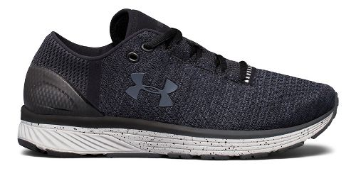 Womens Under Armour Charged Bandit 3 Running Shoe - Black/Glacier Grey 9