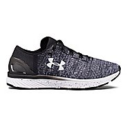 Womens Under Armour Charged Bandit 3 Running Shoe - Black/White 9