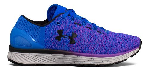Womens Under Armour Charged Bandit 3 Running Shoe - Ultra Blue/Purple 11