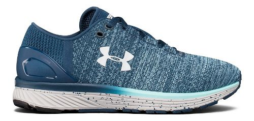 Womens Under Armour Charged Bandit 3 Running Shoe - True Ink/Blue 7