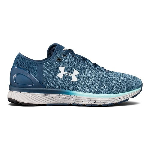 Womens Under Armour Charged Bandit 3 Running Shoe - True Ink/Blue 9